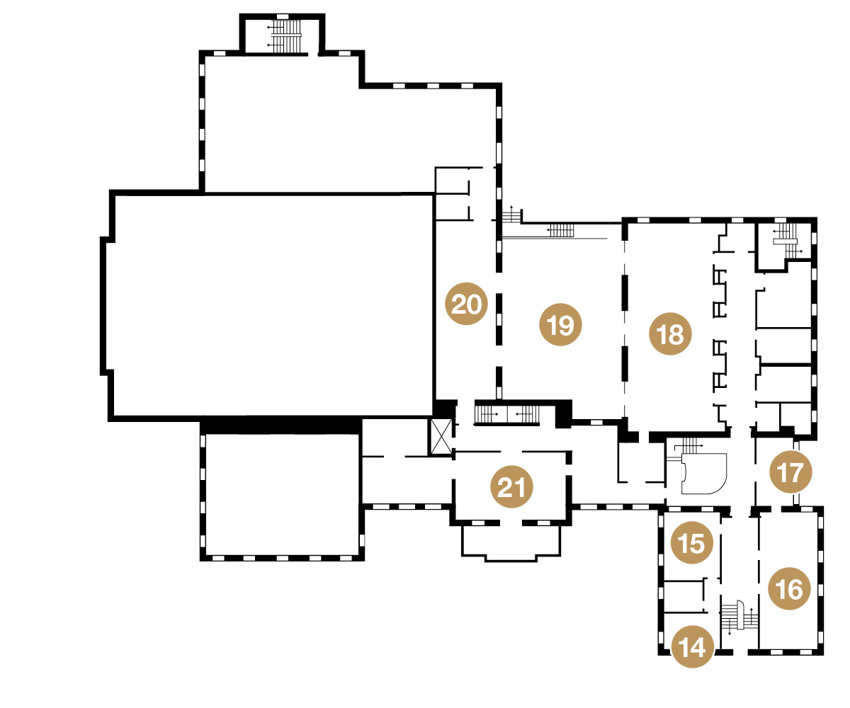 Second Floor Event Spaces